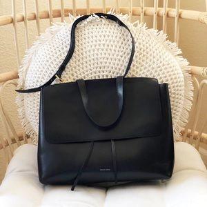 Mansur Gavriel black large lady bag